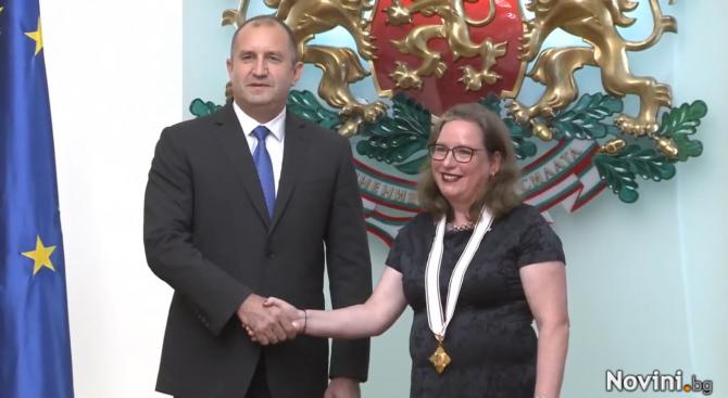 Румен Радев награди посланика на Израел у нас с орден ''Мадарски конник''