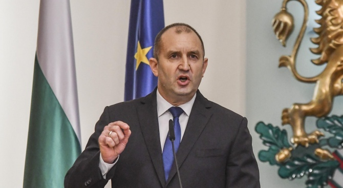 Президентът наложи вето върху промените в Закона за бюджета, касаещи даренията за партиите