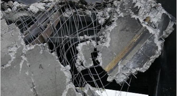 Част от стара къща се срути в изкоп за нова жилищна сграда