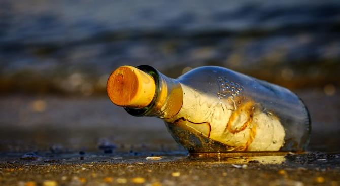 Австралиец намери писмо в бутилка отпреди 50 години