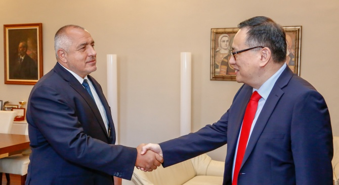 Борисов сe срещна с Управляващия и главен административен директор на Групата на Световната банка Шаолин Янг