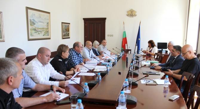 """Данаил Кирилов се срещна с управителния съвет на Синдикат """"Охрана"""""""