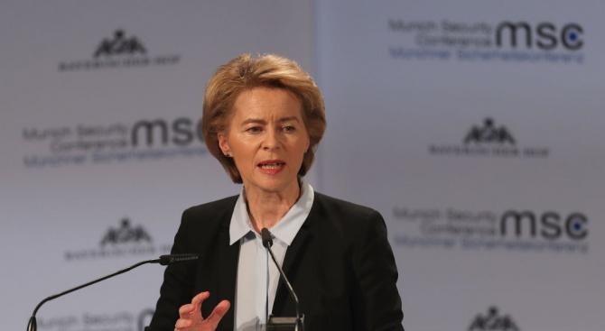 Урсула фон дер Лайен: Европейският съюз не иска твърд Брекзит