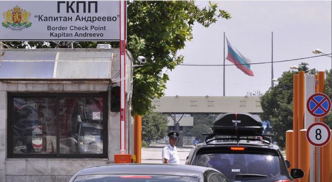 """Рекорден трафик на ГКПП """"Капитан Андреево"""""""