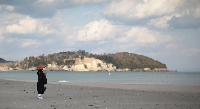 Плаж във Фукушима беше отворен 8 години след ядреното бедствие