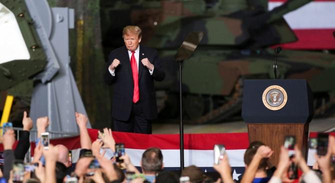 Доналд Тръмп: Война в Афганистан? Ще я спечелим за десет дни