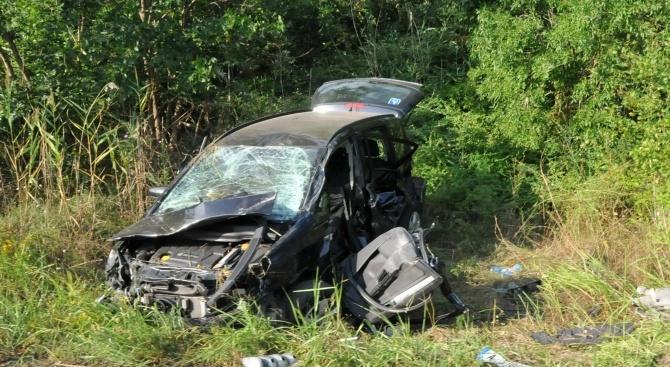 Пиян шофьор самокатастрофира в Монтана