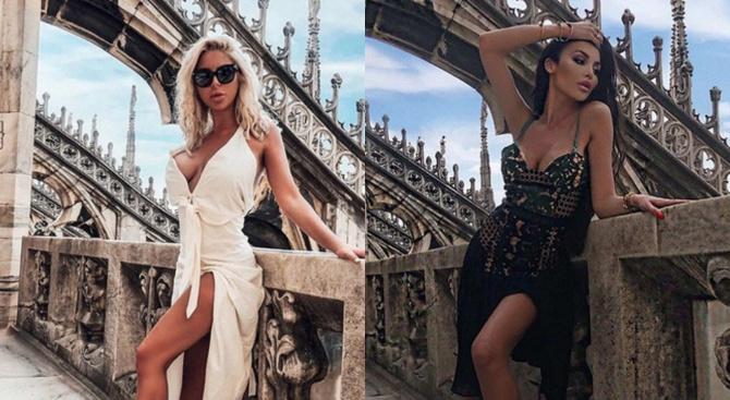 Моника теши Андреа в Милано, двете спят в хотел за 2 бона на вечер