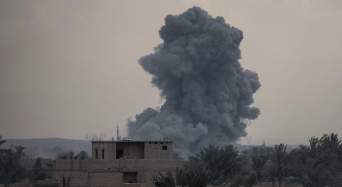 Израел нанесе въздушен удар по стратегически район в Южна Сирия