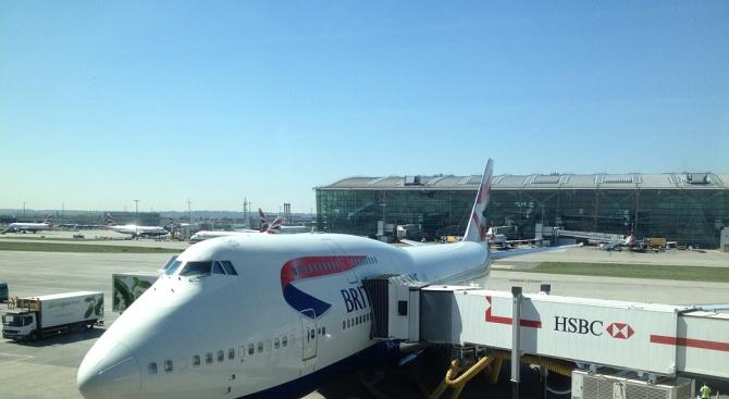 """""""Бритиш еъруейз"""" възобновява полетите до Кайро днес"""