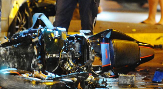Катастрофа на пътя Варна – Добрич, мотоциклетист е пострадал