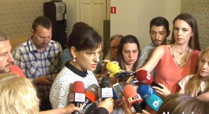 Дариткова за скандалите при ОП: Разчитам, че всички са достъчно отговорни и ще се придържат към коалиционното споразумение, което все още е факт
