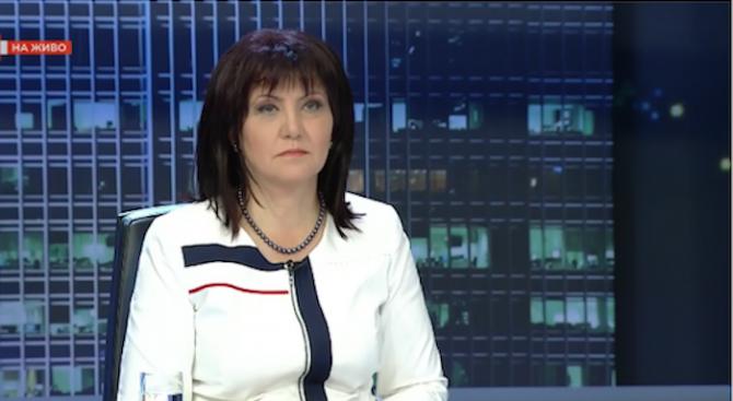 Цвета Караянчева: ГЕРБ няма да се меси в отношенията на Патриотите
