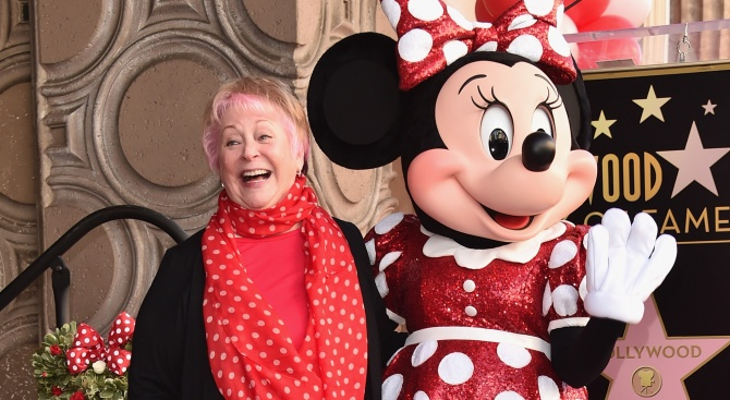 На 75-годишна възраст почина Ръси Тейлър, озвучителката на Мини Маус