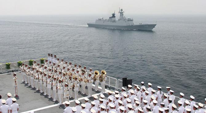 Китай ще организира военноморски учения близо до Тайван