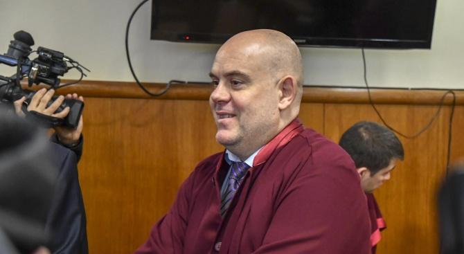 Прокурори, следователи и съдебни служители изразиха подкрепата си за Иван Гешев