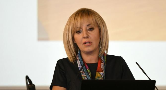 Мая Манолова внесе в парламента Закона за личния фалит