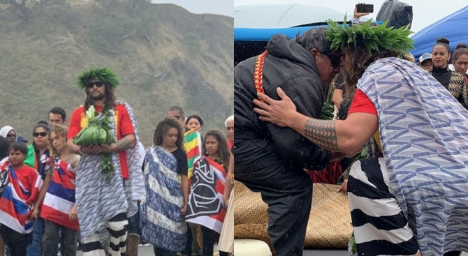 Джейсън Момоа подкрепи протеста срещу изграждането на гигантски телескоп на Хаваите