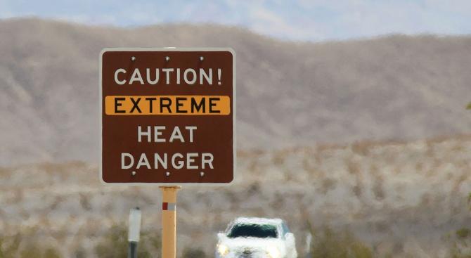 Месец юли бил по-горещ от най-горещия месец в историята