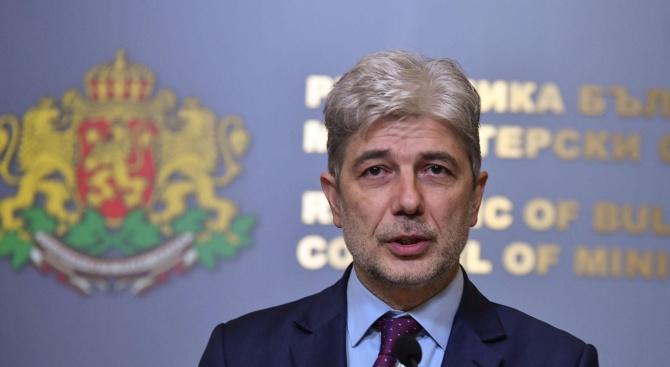 Министър Нено Димов: Важно е да се защитят водите