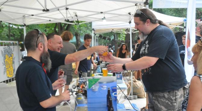 Фест в Бургас събра фенове на бирата