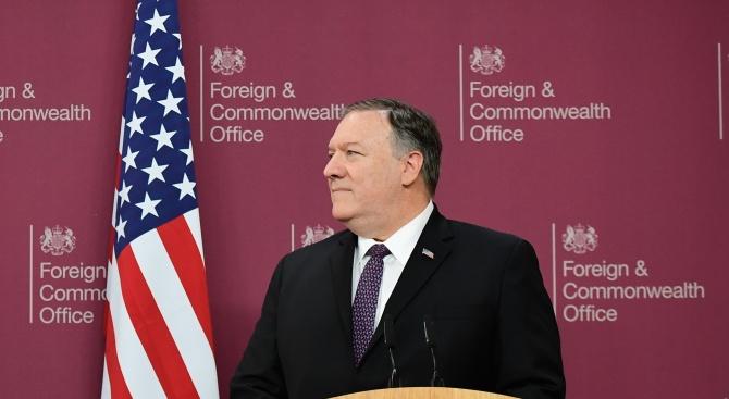 Помпейо натиска Австралия за помощ срещу Иран
