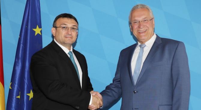 Младен Маринов се срещна с баварския си колега