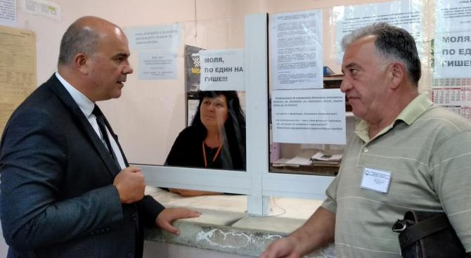 Министър Петков се запозна с работата на ДСП - Сердика в София