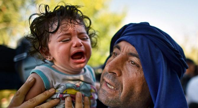Ранени мигранти на границата между Босна и Хърватия