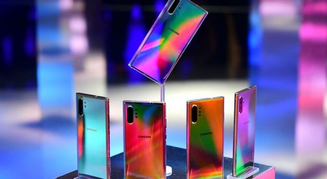 Samsung представи най-новия модел на своя водещ смартфон Galaxy Note