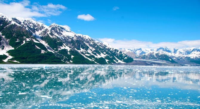 Ледът във водите на Аляска се стопи напълно