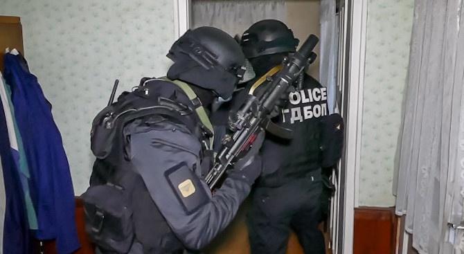 10 души сa задържани при акцията на ГДБОП срещу наркотрафика