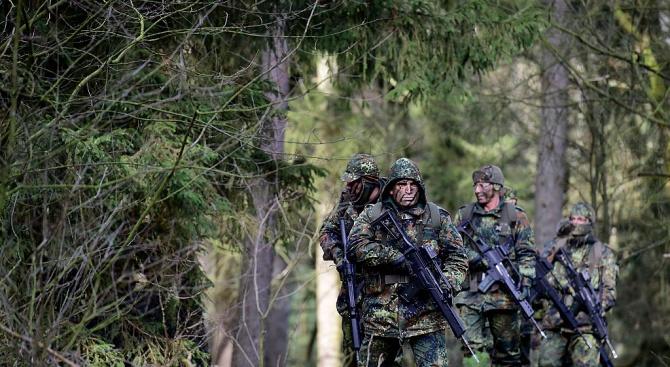 Секретна информация на Бундесвера изтече в нета