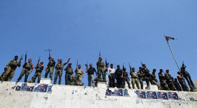 Четирима въоръжени палестинци са убити на границата с ивицата Газа