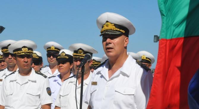 Контраадмирал Михайлов: Военният флот на България може да се похвали с отлични професионалисти