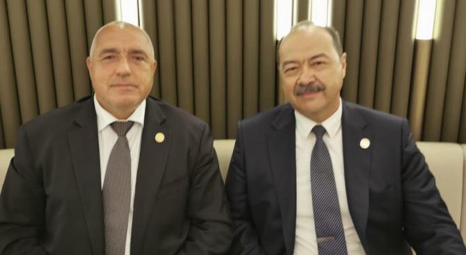 Борисов разговаря с премиера на Република Узбекистан Абдулла Арипов