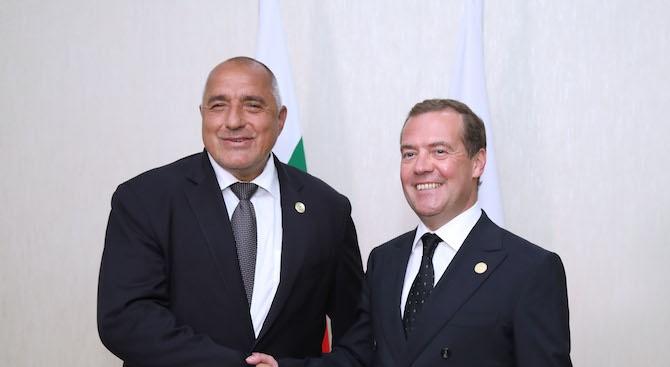 Медведев: Русия и България ще спечелят, ако се съчетаят потенциалите на Черноморския и Каспийския регион