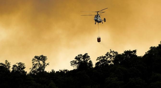 Ограничен е периметърът на пожара на о-в Гран Канария