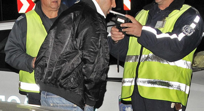 Хванаха пиян шофьор на пътя от к.к. Златни пясъци за Варна
