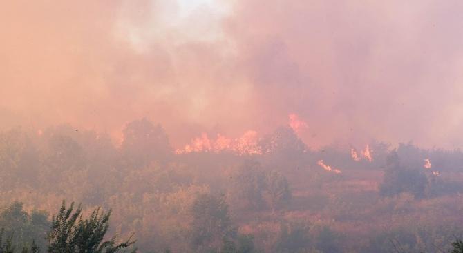 Успокоява се обстановката след пожара в Шишманци