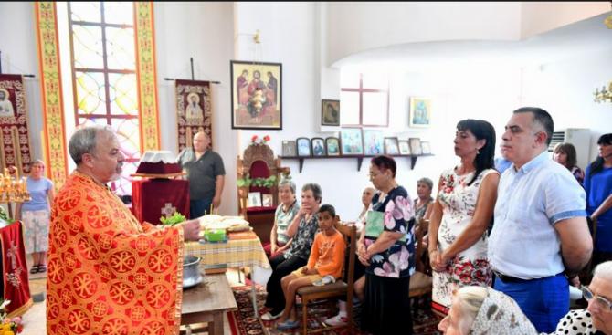 Кметът на Сливен поздрави жители и гости на Младово по случай Успение Богородично
