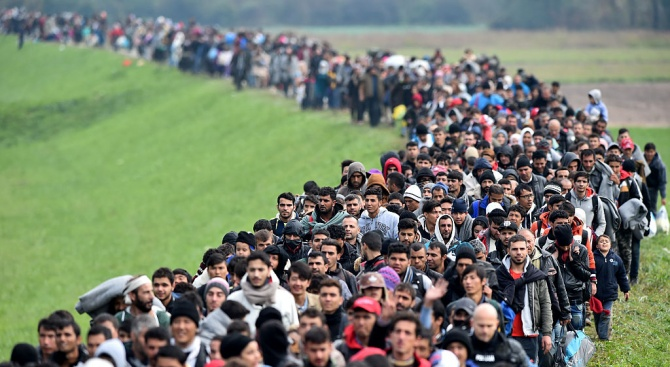 ООН: В света има 70 милиона бежанци -  най-големият брой след Втората световна война