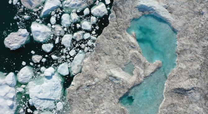 Ако затоплянето продължи - арктическият морски лед през лятото напълно ще изчезне