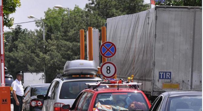 Интензивен трафик на четири гранични пункта