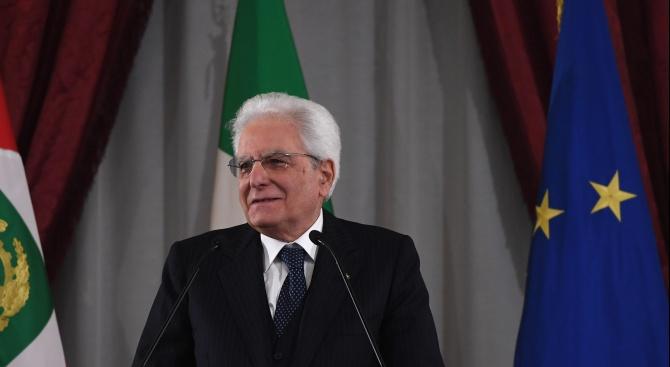 Италианският президент: Искам споразумението за нов кабинет да стане факт скоро