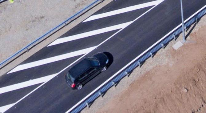 """Пуснаха движението по едното платно на магистрала """"Струма"""" край Дупница"""