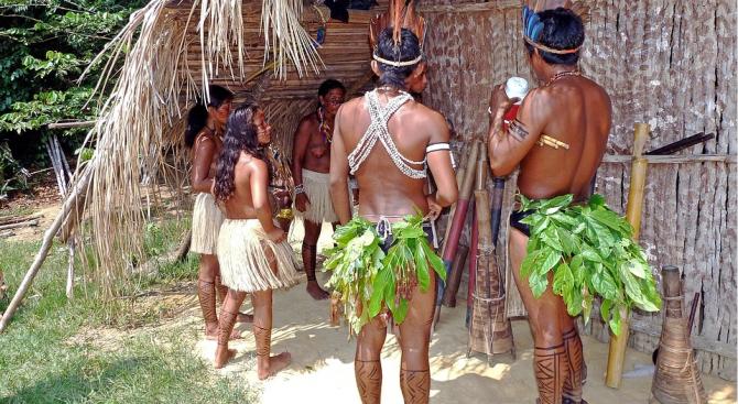 Бразилското туземно племе мура се зарече да се бори за Амазонка до последна капка кръв