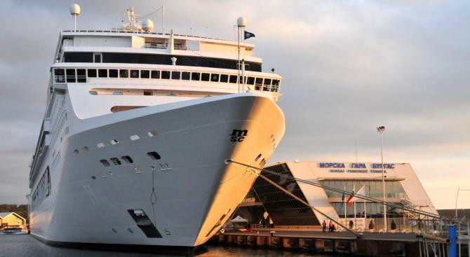 Евростат: През последните 5 години у нас не е реализиран нито един морски круиз