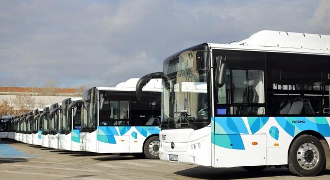 Столична община подаде апликационната форма по проекта за закупуване на 52 нови електробуса