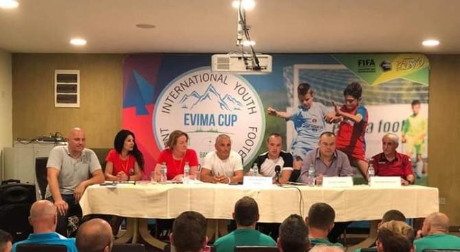 """Най-силният детски футболен турнир в България – """"Евима къп - 2019"""" стартира в Банско"""